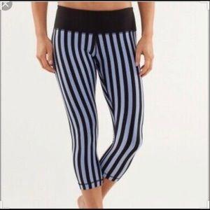 Lululemon Athletica Wunder Under Crop, striped, 4